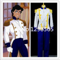 The Little Mermaid Prince Eric Cosplay Costume