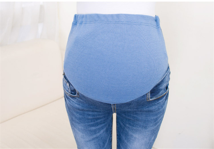 ef7fdb724dae 2019 Teenster Maternity Clothes Pregnancy Trousers Broken Hole Jeans ...