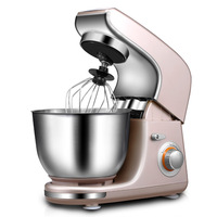 HIMOSKWA Multifunctional 3 In 1 Automatic Food Blender Egg Stirrer Bread Dough Kneading Machine Home Baking Mixer Chef Helper 4L