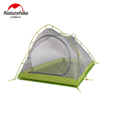 NatureHike waterproof Tent Ultralight Silicon Coated Outdoor Camping Tents travel hiking ultralight Double Layer 4 seasons