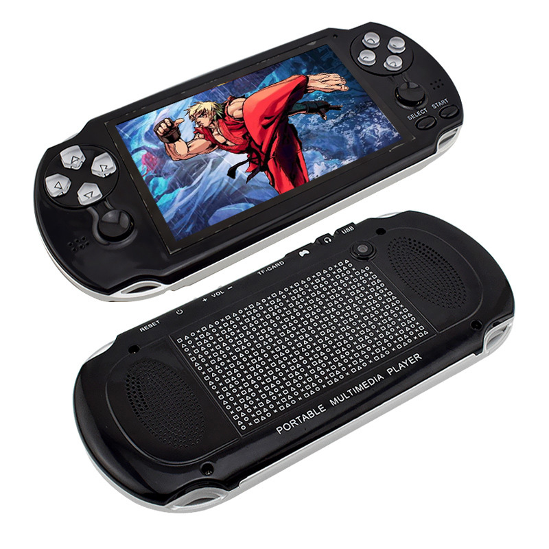 NEW Production PAP II plus 4.3 Handheld Game Player 64Bit PAP Gameta 8G 8GB PMP PSP Built-In 10000 MP4 MP5 Video Game Consoles