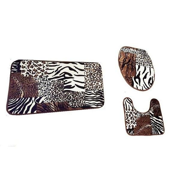 Online Kaufen Grohandel leopardenmuster bad teppich aus ...