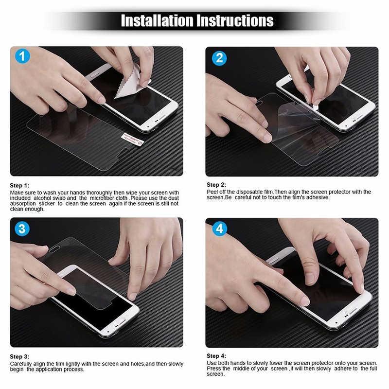 2 шт 2.5D стеклянная пленка для защиты экрана для huawei Honor 5C 6X 7X 7A 7C 8 9 10 Lite закаленное стекло для huawei Honor 9 10 Lite V10