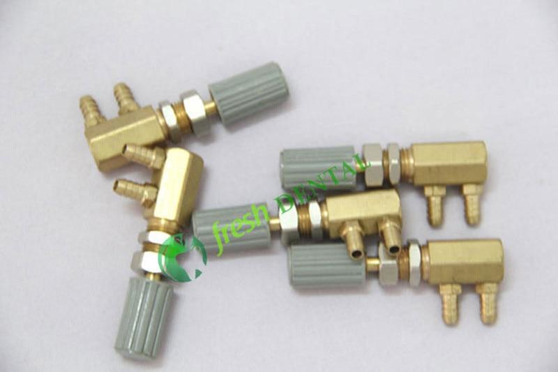 5 peças de água dental ajustar válvula