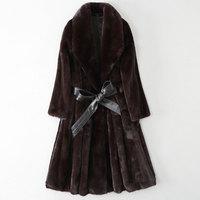 New mink fur coat JD62300