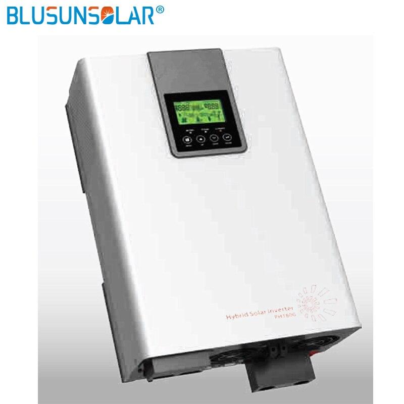 Inversor híbrido 5000 w 48v220v grade amarrado inversor 80a mppt inversor de onda senoidal pura 60a ac carregador wi-fi monitor
