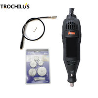 High Quality 180W Power Tools Dremel Mini Grinder Multifunctional Variable Speed Angle Grinder Electric Engraver Creative