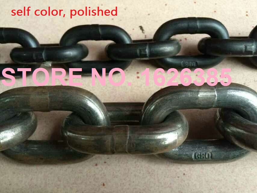 - 7,1 Mm G80 Legierung Kettenzug Hochfesten Mangan Stahl Industrielle Kette Haken Komplette Artikelauswahl 3m---7m 11 Mm