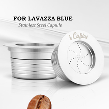 Reusable Stainless Steel Lavazza Blue Coffee Filters For LB951 & CB-100 Machine Refillable Capsule Pod Tamper