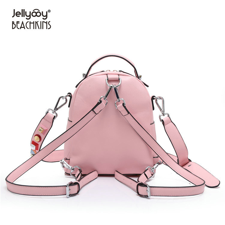 88b4a9f562923 Aliexpress.com : Buy Jellyooy Beachkins New Fashion Colorful Rivet  Backpacks Luxury Stud Girl School Bag Small Shoulder Messenger Backpack  from Reliable ...