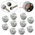 "Motorcycle CNC 3/8"" Schrauben Inner Hoel 9mm Motor Screw Bolt Cover Cap For Harley Chrome"