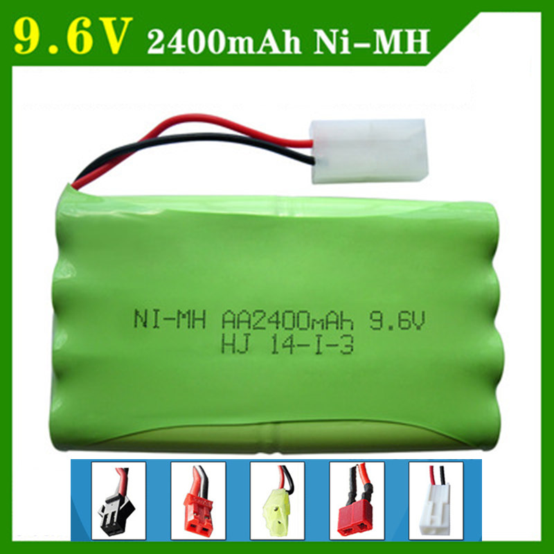 9.6V 2400mAh Remote Control Toys Electric toy security facilities electric toy AA battery battery group SM/T/JST Plug 8*AA Ni-MH аккумуляторы hr06 aa duracell ni mh 2400 2500 mah 2шт