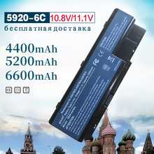 6 Cell Laptop Battery for Acer Aspire AS07B31 5920 5230 5310 5315 5330 5520 5530 5530G 5710 5715Z 5720 5730ZG 5739 5920G 5930 8cell 14 8v as07b31 original laptop battery for acer aspire as07b32 5520 5720 5920g 5930g 6920g 6930g 7520g 7330 5930g as07b51
