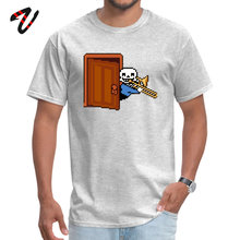 Birthday Undertale Sans with trombone T-Shirt for Adult Thanksgiving Day O-Neck Pure Videogame Top T-shirts