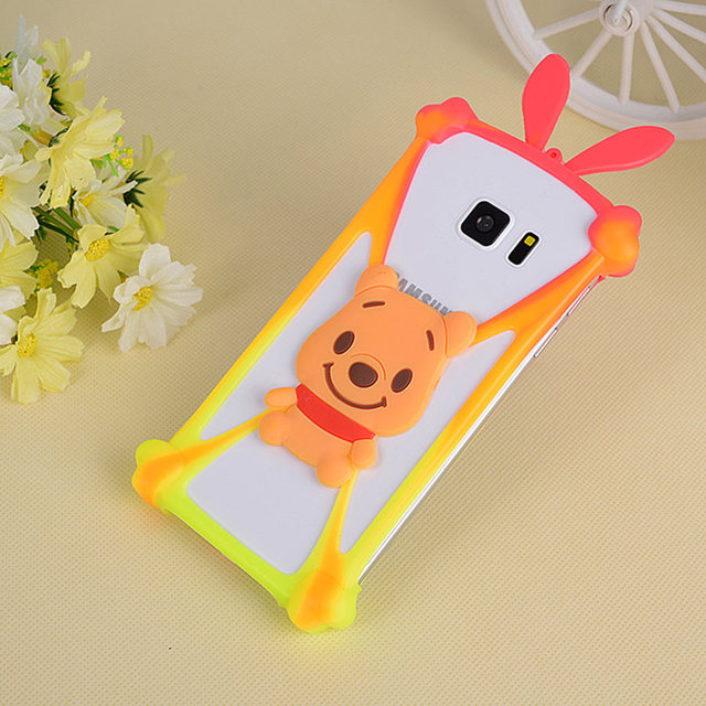 Cartoon Silicone Universal Cell Phone Cases Fundas For ZTE Blade A452 A5 L4 Pro X9 Z970 Axon Elite Case Coque Cover Anti-knock
