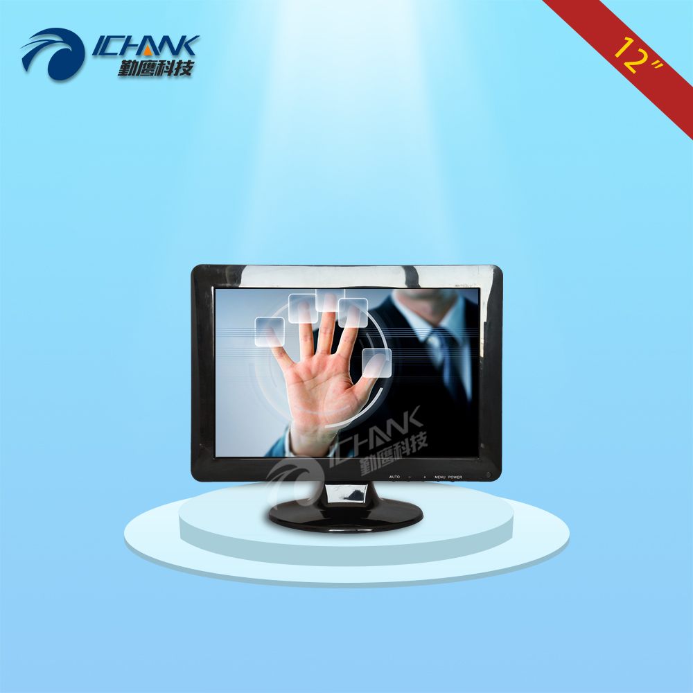 ZB120JC V593/12inch 1280x800 16:10 Widescreen HDMI VGA POS Ordering Machine Industrial Medical Touch Monitor LCD Screen Display