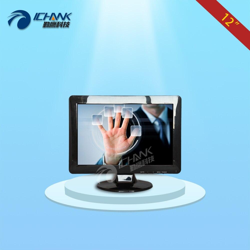 ZB120JC-V593/12 pollice 1280x800 16:10 Widescreen HDMI VGA POS Macchina Ordinazione Industriale Medical Monitor Touch Dello Schermo LCD Display