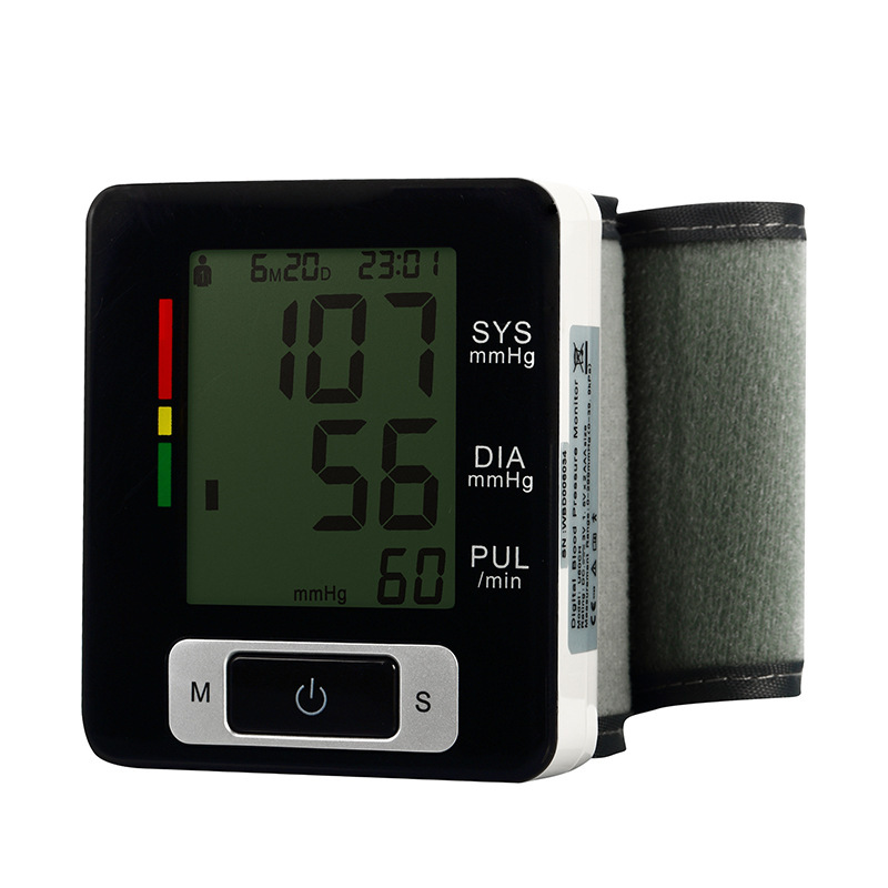 AOEOM Family Health Monitor Digital Wrist Blood Pressure Monitor with WHO Classification Indicator Sphygmomanometer Sphygmometer концентрат health