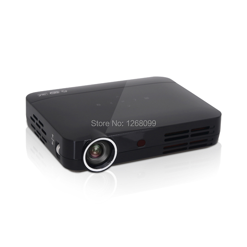 Nuevo Alto Brillo LLEVÓ el Proyector DLP 6800 Lúmenes Proyector Digital Full HD