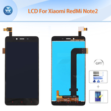 Original LCD for Xiaomi Redmi Note 2 LCD display touch screen digitizer assembly 5.5″ pantalla black for Xiao Mi Red Mi Note 2
