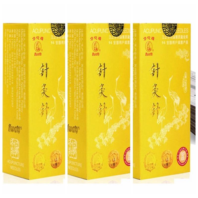 200pcs/box Hwato Acupuncture Needle Reusable Needle beauty massage needle Silver needle