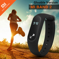 Original Xiaomi Mi Band 2 Heart Rate Monitor Smart Wristband Pedometer Fitness Tracker Miband 2 Bracelet For Android / IOS