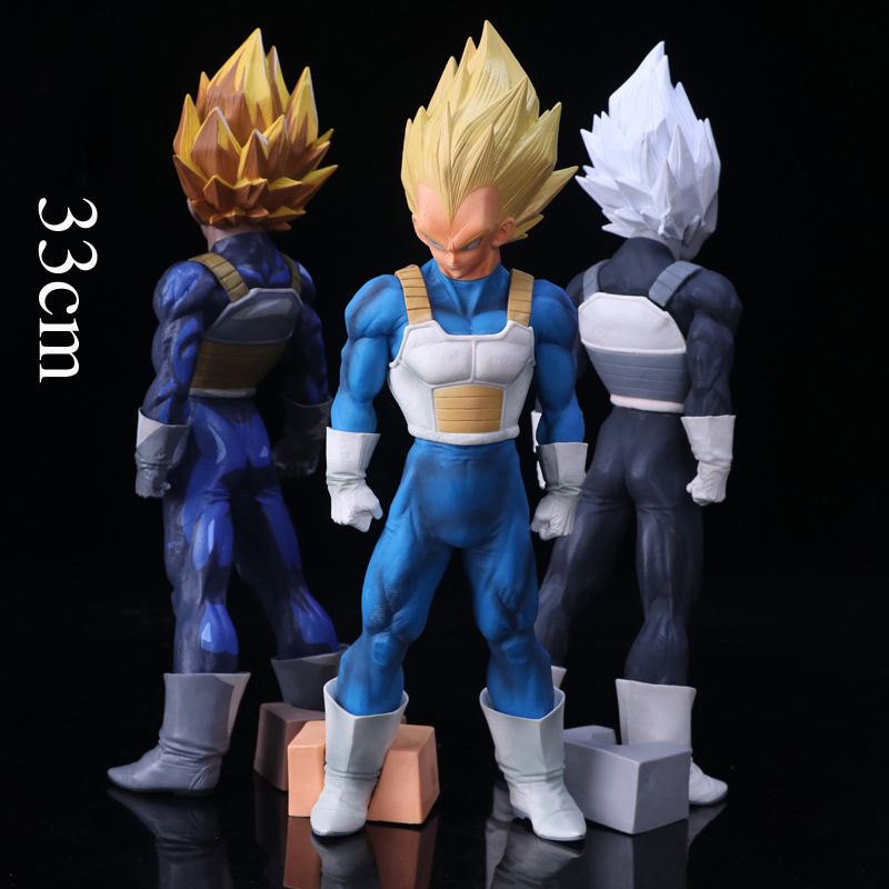 Dragon Ball Z SMSP Super Master Stars Piece 3 Types Boxed The Vegeta PVC Action Figure Collectible Model Toy Brinquedos 33cm shfiguarts dragon ball z vegeta pvc action figure collectible model toy 6 5 16cm