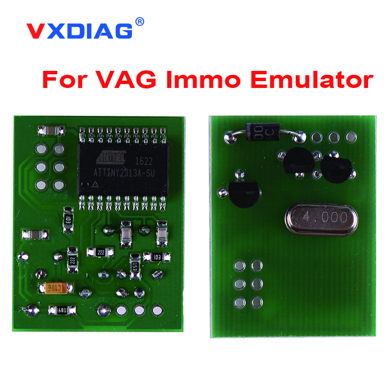 2018 Wholesale prices for VAG Immo Emulator for VW for Audi for seat Auto Key Programmer With Free Shipping 2pcs lot universal immo emulator for can bus cars julie emulator seat occupancy sensor programs car obd2 diagnostic tools