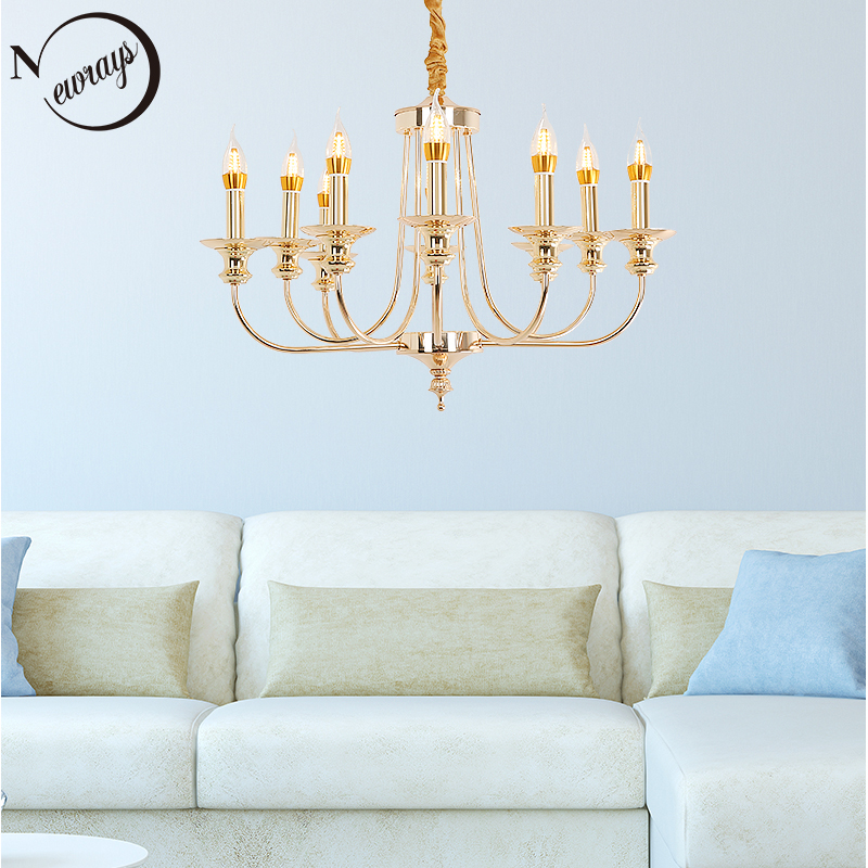 Vintage art deco golden pendant light LED E14 loft modern royal Nordic lamp for parlor bedroom lobby restaurant home study bar-in Pendant Lights from Lights & Lighting on Newrays lamp Store