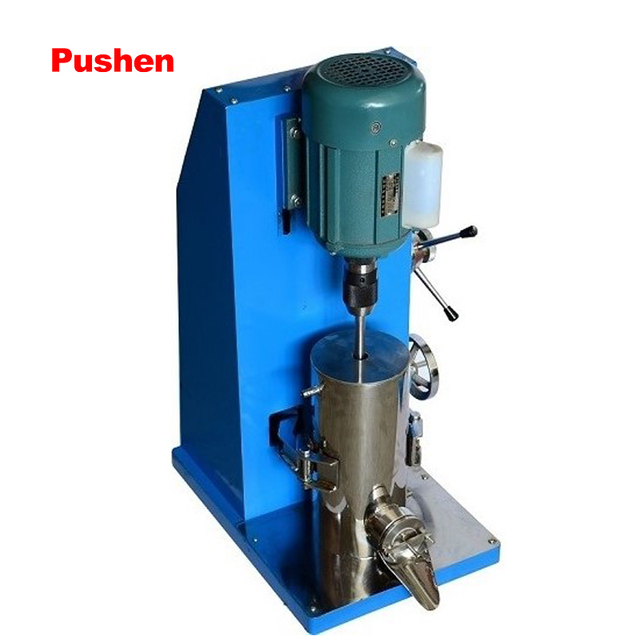 BRAND PUSHEN Sand Mill Small Mill Machine Dispersed sanding equipment  for paint inks dye waterbased product  sand milling