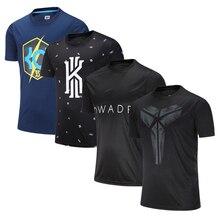 Мужские азиатского размера майки спортивные тренировочный баскетбольный мяч рубашка дышащие эластичные для женщин Свободные бег футболки