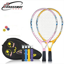 19 Inch Licht Gewicht Tennisracket Kinderen Tennisracket Kid Raquete De Tenis Paddle Met Tennis String Tas Tenis raket(China)