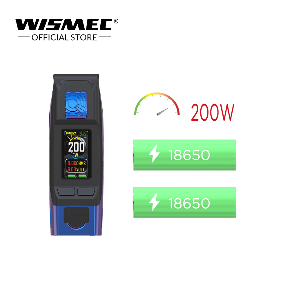 Image 5 - Wismec Reuleaux Tinker 2 IP67 Waterproof mod 200W powered by Dual  18650 battery Electronic Cigarette modElectronic Cigarette Mods   -