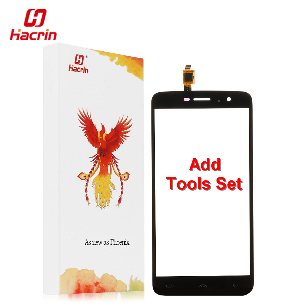 hacrin HOMTOM HT17 Pro touch screen 100 New Digitizer Glass Panel Replacement repair accessory For HOMTOM