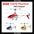 Оригинал Syma S107G S107 3.5CH RC летающие игрушки гироскопа Управления По Радио Металл сплава фюзеляжа R/C Helicoptero Mini Co коаксиальный вертолет игрушка
