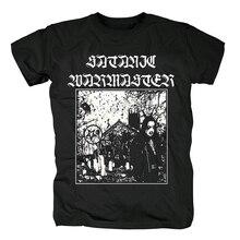 Blood hoof t shirt noir, warmaster satanic, en métal lourd, en coton, nouveau, taille asiatique