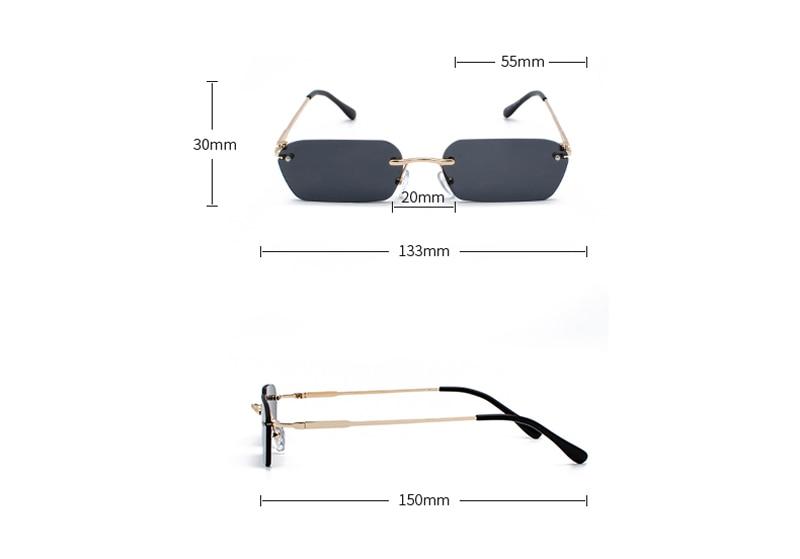rimless sunglasses 6055 details (3)