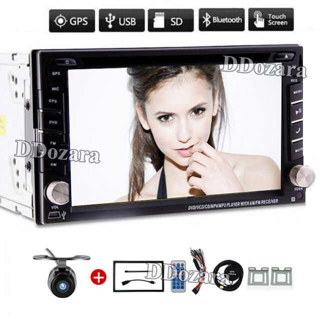 Car Electronic Double 2 Din Car DVD Player Auto Radio GPS In Dash Car PC Stereo Video Free Map Free Camer RDS For VW Universal 6 2 inch 2 din in dash car dvd player gps navi system for old toyota universal vios rav4 collora sequoia yaris hiace highlander