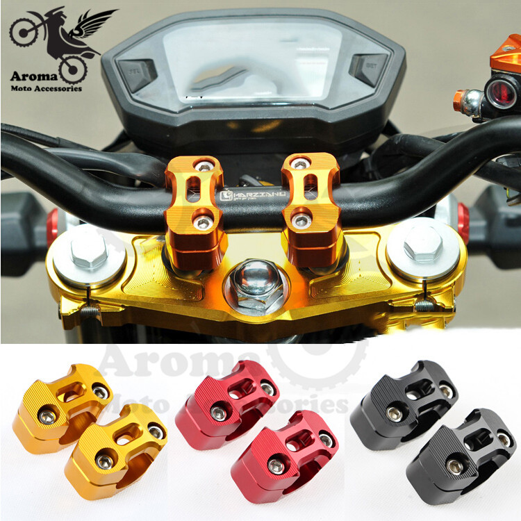 4 Colors Available 28mm Motorbike Handle Bar Risers For