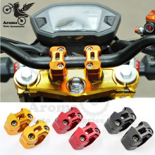 4 Colors Available motorcycle handlebar riser 28mm font b motorbike b font Handle Bar Risers For