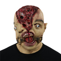 Festival Party Supplies Halloween Latex Mask Horrifying Mask Latex Mask For Masquerade Halloween Costume Bar Realistic