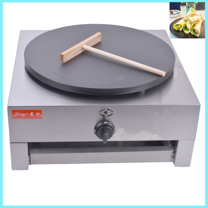 Home  Gas Type Crepe Maker French Crepes Pancakes Naan Bread Maker With English Manual FYA-1.R crepe scott crepe spreader the secret to great crepes discovered wooden crepe batter spreader for use with specialty crepe maker pan or any skillet