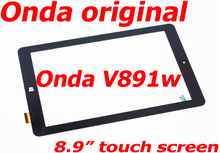 Free Shipping Original Touch Screen for Onda V891w Touchscreen 8.9