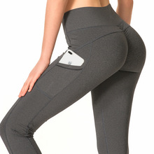 2019 Hot Hip Pants Pocket AliExpress Burst Yoga Pants