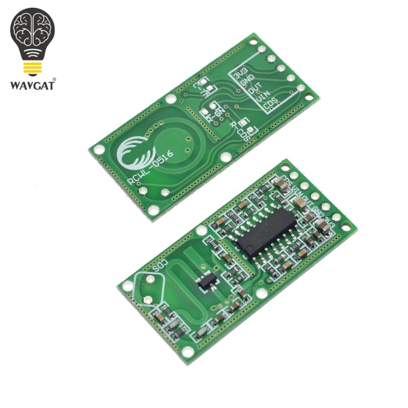 RCWL-0516 microwave radar sensor module Human body induction switch module Intelligent sensorRCWL-0516 microwave radar sensor module Human body induction switch module Intelligent sensor