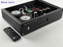 ES9038 ES9038PRO HIFI ses DAC dekoder + yüksek kaliteli Toroidal Transformatörler + uzaktan kumanda + Desteği XMOS XU208 Veya Amanero USB