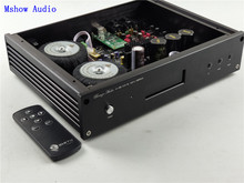 Es9038 es9038pro hifi 오디오 dac 디코더 + 고품질 toridal 트랜스포머 + 원격 제어 + 지원 xmos xu208 또는 amanero usb
