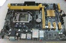 Использовать оригинальный компьютер h81 h81m материнские платы для asus h81m-plus 1150 плата поддерживает интегрированный графический выход i34170 pci