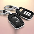 Leather Car Styling Remote Key Cover Case For Honda Accord 9 Civic Crosstour CR-V Fit Insicht Odyssey Auto Key Cover Accessories
