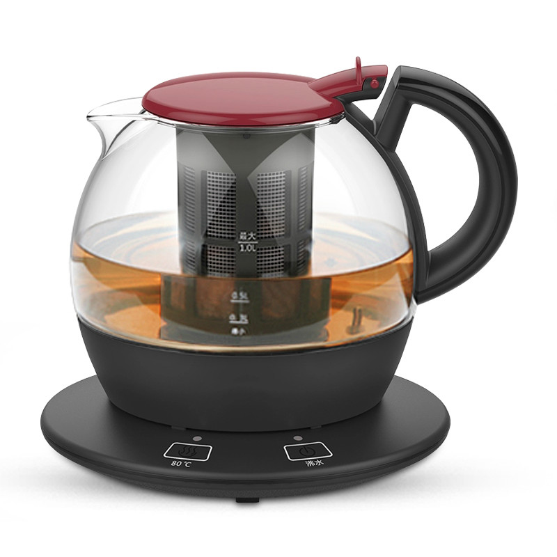Electric kettle for electric heating The glass automatic power blackouts are used to serve the teapot of a